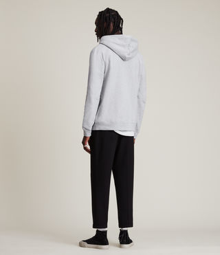 Men's Raven Hoody (Grey Marl) - Image 4