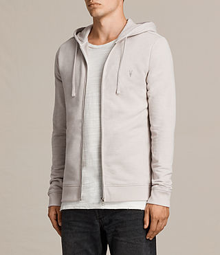 Mens Raven Hoody (Taupe Marl) - Image 3