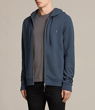 Hombres Raven Hoody (WASHED NAVY) - product_image_alt_text_3