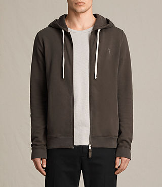 Hommes Sweat à capuche Raven (Khaki Brown) -