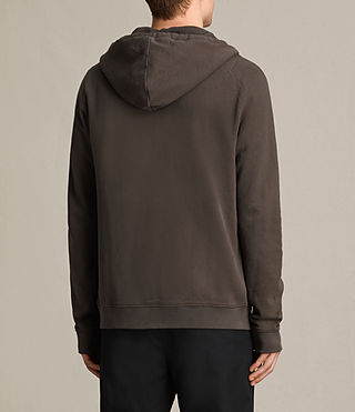 Hommes Sweat à capuche Raven (Khaki Brown) - product_image_alt_text_4