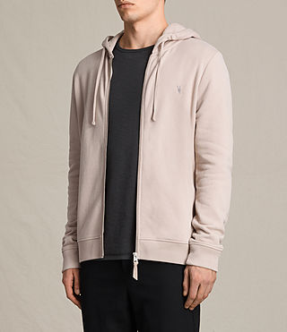 Mens Raven Hoody (OAT PINK) - product_image_alt_text_3