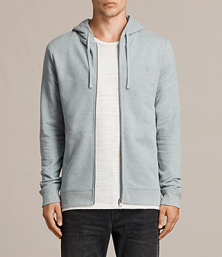 Mens Raven Hoody (CHROME BLUE MARL) - Image 1