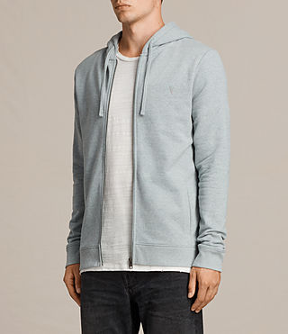 Mens Raven Hoody (CHROME BLUE MARL) - Image 3