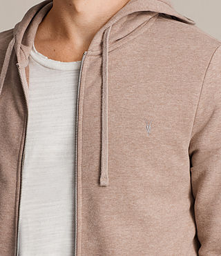 Men's Raven Hoody (MUSHROOM PINK MARL) - product_image_alt_text_2