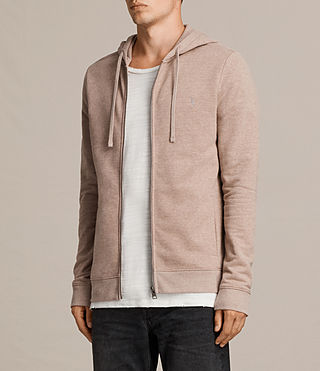 Men's Raven Hoody (MUSHROOM PINK MARL) - product_image_alt_text_3