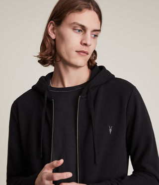 Men's Raven Hoody (Black) - Image 2