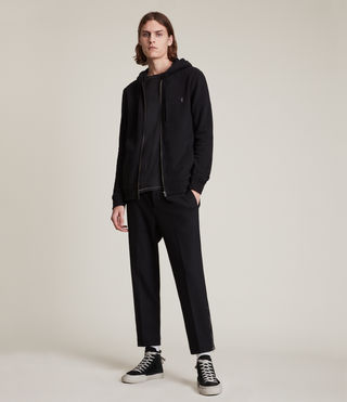Men's Raven Hoody (Black) - Image 3