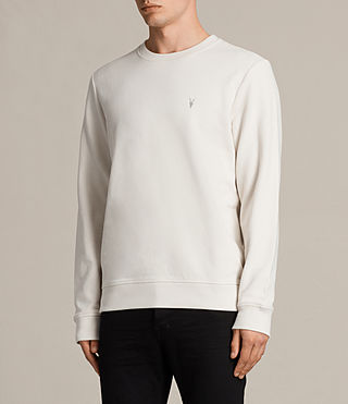 Hombres Sudadera Raven (Vintage White) - product_image_alt_text_3