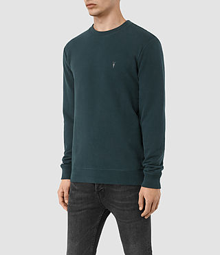 Hombres Sudadera Raven (Petrol Blue) - product_image_alt_text_3