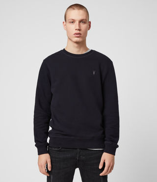 Hommes Sweat Raven (INK NAVY) - Image 1