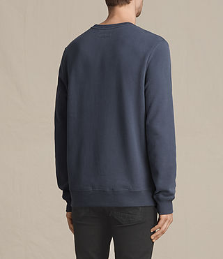 Mens Raven Crew Sweatshirt (WASHED NAVY) - Image 4