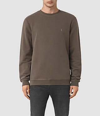 Hommes Sweatshirt Raven (Khaki Brown) -