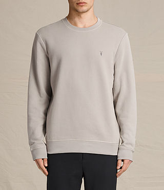 Mens Raven Crew Sweatshirt (CONCRETE GREY)