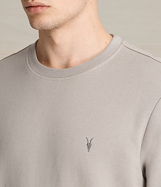 Men's Raven Crew Sweatshirt (CONCRETE GREY) - product_image_alt_text_2