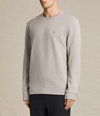 Men's Raven Crew Sweatshirt (CONCRETE GREY) - product_image_alt_text_3