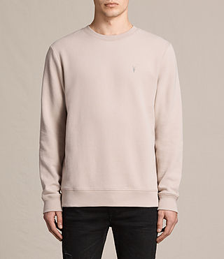 Men's Raven Crew Sweatshirt (OAT PINK) - product_image_alt_text_1
