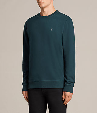 Mens Raven Crew Sweatshirt (OIL BLUE) - Image 3