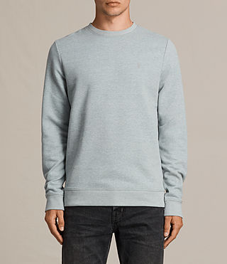 Men's Raven Crew Sweatshirt (CHROME BLUE MARL) - Image 1