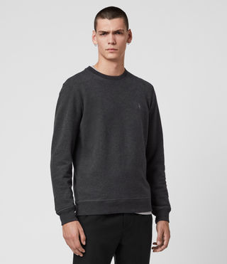 Men's Raven Crew Sweatshirt (Charcoal Marl)