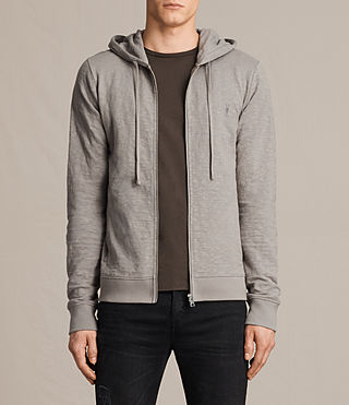 Mens Lino Hoody (Putty Brown)