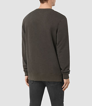 Men's Mishap Crew Sweatshirt (Khaki Brown) - product_image_alt_text_3