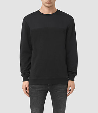 Mens Mishap Crew Sweatshirt (Black)