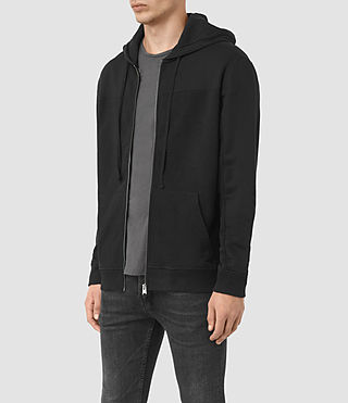 Hommes Mishap Hoody (Black) - product_image_alt_text_2