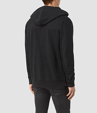 Hommes Mishap Hoody (Black) - product_image_alt_text_3