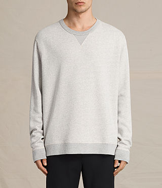 Men's Fordala Crew Sweatshirt (Grey Marl) -
