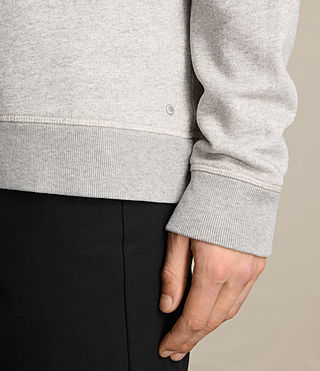 Men's Fordala Crew Sweatshirt (Grey Marl) - product_image_alt_text_2