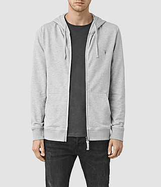 Mens Saturn Hoody (Grey Marl)