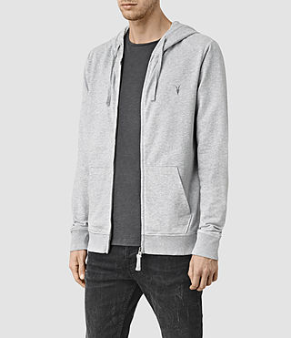 Mens Saturn Hoody (Grey Marl) - product_image_alt_text_2