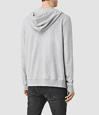 Mens Saturn Hoody (Grey Marl) - product_image_alt_text_3