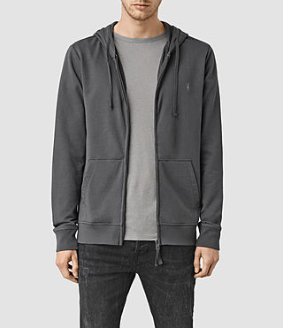 Hombre Saturn Hoody (Washed Black)