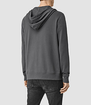 Uomo Saturn Hoody (Washed Black) - product_image_alt_text_3