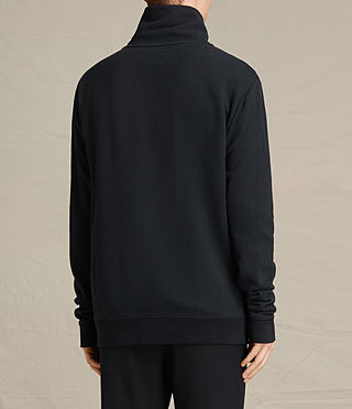 Hombre Fordala Funnel Neck Sweater (Cinder Marl) - product_image_alt_text_4