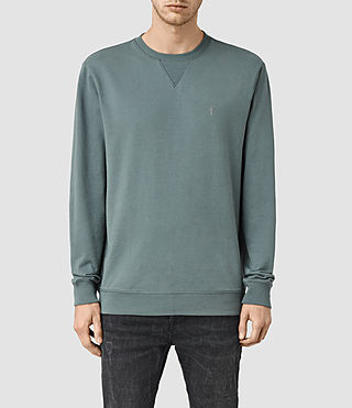 Men's Saturn Crew Sweatshirt (Deep Ocean Blue)