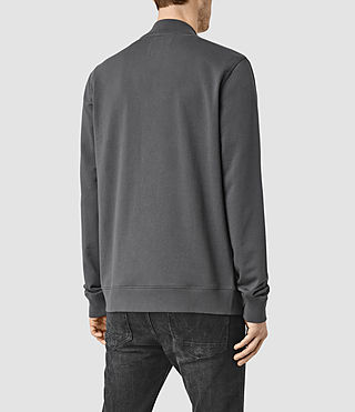 Hombre Saturn Bomber Sweatshirt (Washed Black) - product_image_alt_text_3