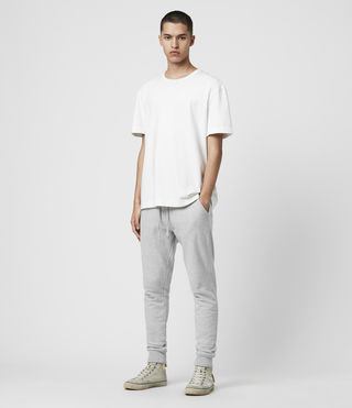 Hombre Raven Sweat Pant (Grey Marl) - product_image_alt_text_3