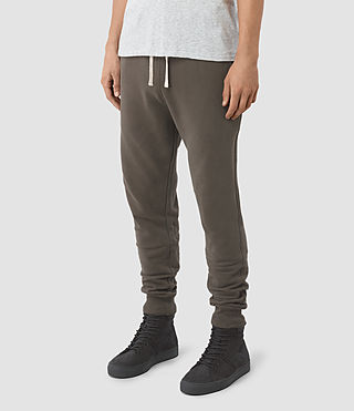 Hommes Raven Sweat Pant (Khaki Brown) - product_image_alt_text_2