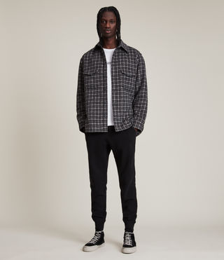 Hommes Raven Sweat Pant (Black) -