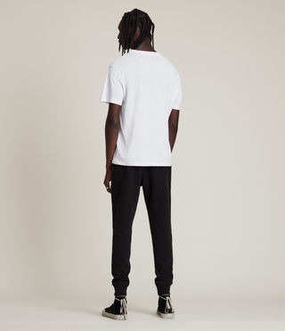 Hombres Raven Sweat Pant (Black) - product_image_alt_text_4