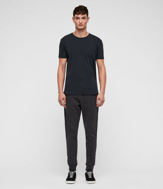 Hombres Raven Sweat Pant (Charcoal Marl) - product_image_alt_text_4