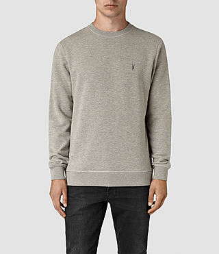 Men's Wolfe Crew Sweatshirt (Smoke Marl) -
