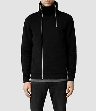 Mens Rhea Funnel Neck (Black)