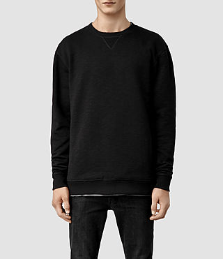 Mens Showal Crew Sweat (Black)