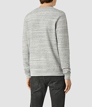 Hombre Trema Crew Sweatshirt (Ecru Mou/Vntg Wht) - product_image_alt_text_3