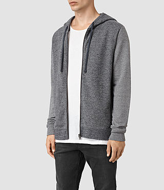 Men's Trema Hoody (CHARC MOUL/CEMENT) - product_image_alt_text_2