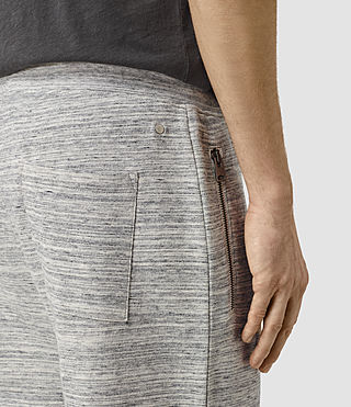 Men's Trema Sweatshort (Ecru Mou/Vntg Wht) - product_image_alt_text_2